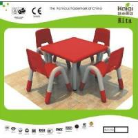 China Kid Plastic Table and Chair (KQ10183B) wholesale