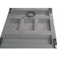 China Single Deck Industrial Floor Weighing Scales 1.2 X 1.5m 3t Powder Coated With Ramps on sale