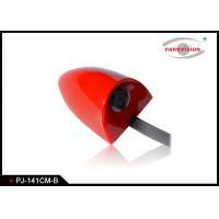 China DC 12V Universal Side Car Parking Side View Camera Wide Angle 3G1P Lens Red Color wholesale