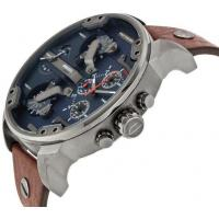 Wholesale NEW DIESEL DZ7314 BROWN LEATHER MENS MR DADDY 2.0 57MM CHRONOGRAPH