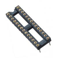 China 2.54mm IC Card	Round Pin Header 2*14P DIP H=3.0 L=7.43 Row Of Pitch 7.62 wholesale