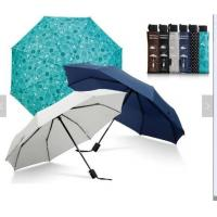 Waterproof Lightweight Folding Self Opening Umbrella Rubber Coating Handle Many Colors