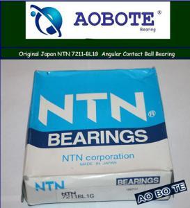 China NTN Angular Contact Ball Bearing 7211-BL1G , P4 55*100*21MM and Low Noise wholesale