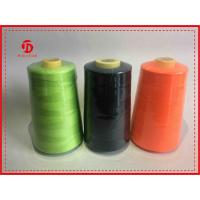 China Colored High Stretch Polyester Ring Spun Polyester Thread  For Sewing Machine wholesale