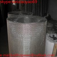 Buy cheap stainless steel 304  crimped wire mesh/galvanized stainless steel crimped wire mesh square wire mesh/steel crimped mesh from wholesalers