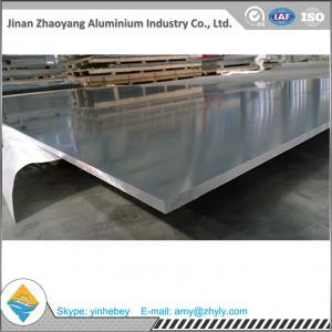 Quality 1220 Mm X 2440 Mm Mill Aluminium Alloy Sheet / 2.0mm 5052 Aluminum Plate for sale