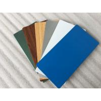 Quality Glossy Blue ACP Aluminium Composite Panel 2000mm Width With 0.30mm Alu Thickness for sale