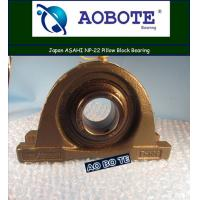 China Single Row Pillow Block Bearing Japan ASAHI NP-22 For Light Textile wholesale