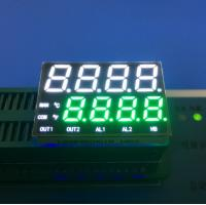 China Emitting Ultra White 8 Digits 7 Segment LED Display For Temperature Indicator wholesale