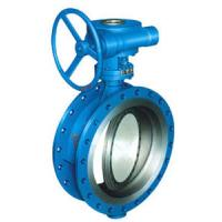 "China Casting API609 Butterfly valve 2""-48""API 6D  Metal to metal sealed Class 150,Class300. Design: API 609 wholesale"