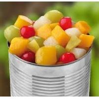 China Mixed Organic Canned Fruit , Low Calorie Canned Fruit Cocktail Refreshing Taste wholesale