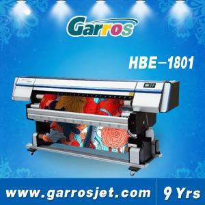 China Professional Digital Fabric Textile Printer Garros HBE1801 wholesale