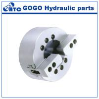 China Solid Dynamic Hydraulic Lathe Chuck / 2 Jaw Chuck For Surface Grinding Machine on sale