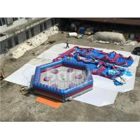 Buy cheap Man Standing Meltdown Rotating Inflatable Sports Games with Controller , Kids from wholesalers