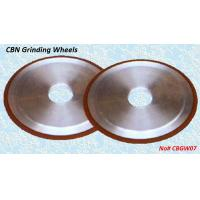 China Resin Bond CBN Grinding Wheels - CBGW07 wholesale