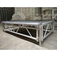 China 4*8 Feet Assembly Outdoor Used Portable Anti slip Aluminum and Wooden Wedding Stage wholesale