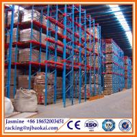 China Warehouse drive through pallet rack, Indutry large capacity drive through shelves wholesale