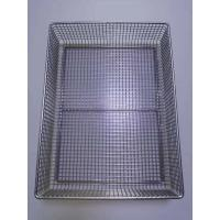 China Stainless steel electric welding, high temperature resistant metal cleaning basket, medical disinfection frame wholesale