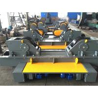 Buy cheap Rubber / Metal Conventional Pipe Welding Rollers 100T For Tank Fit Up Welding from wholesalers