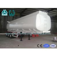China Q345 Carbon Steel Stainless Steel Tanker Trailers With Water Tank wholesale