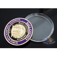 China Multi Colored Sports Challenge Coins , Durable Custom Commemorative Coins wholesale