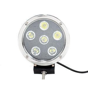 China High Intensity 5.5'' Black Round Led Fog Driving Lights 9 - 36v 60W Waterproof IP68 wholesale