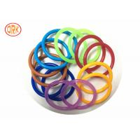 China AS568 Waterproof NBR O Ring Rubber , Colored Orings Excellent Air Tightness wholesale