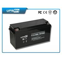 China Gel Cell Battery Sealed Rechargeable Lead Acid Battery High Discharge Rate wholesale