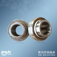China Stainless Steel Ball Bearing Units 25mm SUC205 L3  , Triple-seal insert bearings wholesale