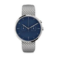 China Ladies Watches Blue Face Stainless SteelCase , Ladies Silver Tone Watches wholesale
