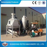 China Animal Feed Counter Flow Cooler with Screener , Wood pellet cooler wholesale