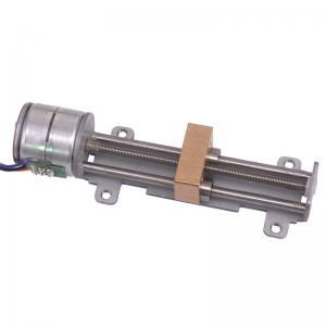 China Stepping 20 Mm 3D Printer Motors Micro Slide Table Screw Rod Linear Stepper Motor wholesale