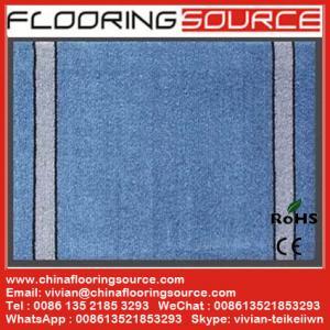 China Cut Pile Carpet Entrance Floor Mat  polypropylene fibers pvc bakcing wholesale