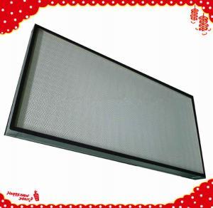 China 1220x610x90mm fan filter unit minipleat honeywell hepa air purifier filters wholesale