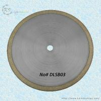 China Bronze Sintered Diamond Saw Blade for Cutting Glass and Gemstone - DLSB03 wholesale