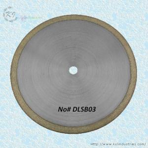 China Bronze Sintered Diamond Saw Blade for Cutting Glass and Gemstone - DLSB03 wholesale