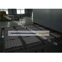 China High Output Egg Tray Machinery , Egg Crate Making Machine PLC Control wholesale