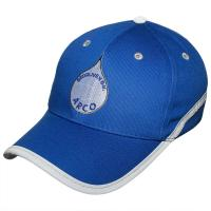 China Blue 100% Cotton Golf Baseball Hats Embroidery Cool Snapback Hats wholesale
