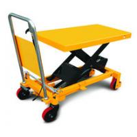 China Safety Heavy Duty Scissor Lift Table , Hydraulic Scissor Platform Lift For Workshop wholesale