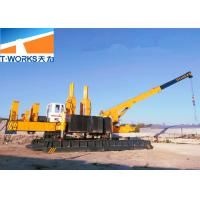 China No Pollution Press Pile Machine Fast Piling Speed Long Working Lifespan wholesale