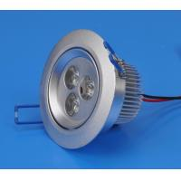 China Cool white 3W 270lm Φ70 Recessed LED Downlight / Ceiling Lamp for Home, Office Lighting wholesale