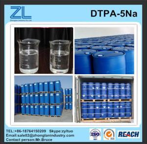 China light yellow DTPA-5Na liquid 50% from China wholesale