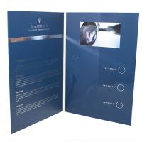 China VIDEO IN FOLDER Factory supply customized Hot 5 inch TFT screen video brochure video folder in print wholesale