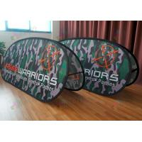 Quality customized Printed Advertising pop up banner stands , 120X70CM custom fabric for sale