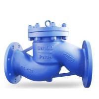 China DIN Lift Wafer Check Valve DN150 GS-C25 EN12266.1 , Wafer Double Plate Type wholesale