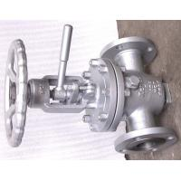 China OS & Y Lift Plug Valve , Bolted Bonnet Valve Hard Seat Non - Lubricated wholesale