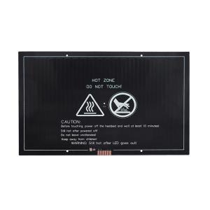 China 300*200*3mm 24V 260W 3D Printer Heatbed MK3 Aluminum Substrate wholesale