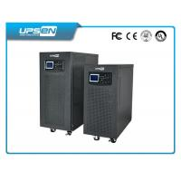 China 2 Phase 120V / 208V / 240V High Frequency Online UPS 6KVA / 10KVA With DSP Control wholesale