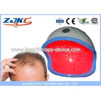China 650nm Low Level Hair Regrowth Cap / High Power Laser Hair Regrowth Helmet , FCC CE wholesale