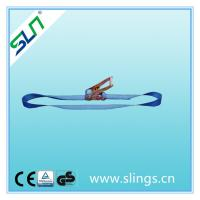 China Ratchet strap blue color from HEBEI SLN SLING wholesale